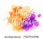 watercolor imitation background ... | Shutterstock .eps vector #750791998