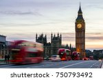 the big ben  house of... | Shutterstock . vector #750793492