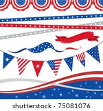 "vector illustration of ""4th of... 
