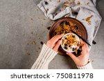 ideas for an autumn winter... | Shutterstock . vector #750811978