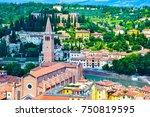 verona italy | Shutterstock . vector #750819595