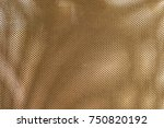 fabric texture  close up of... | Shutterstock . vector #750820192