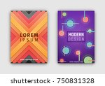 modern design covers set of two ...