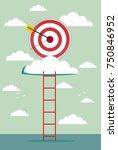 climb for target over cloud