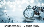 holiday background with copy... | Shutterstock . vector #750854002