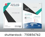 covers design with space for... | Shutterstock .eps vector #750856762