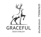 Graceful Deer Emblem ...