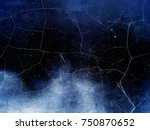 cracked wall background texture.... | Shutterstock . vector #750870652