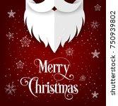 merry christmas | Shutterstock .eps vector #750939802