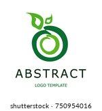 abstract logo template | Shutterstock .eps vector #750954016