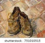 Shoes  By Vincent Van Gogh ...