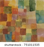 untitled  by paul klee  1914 ... | Shutterstock . vector #751011535