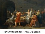 The Death Of Socrates  By...