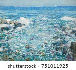 Surf  Isles Of Shoals  By...
