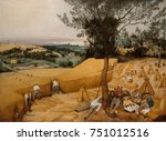 the harvesters  by pieter... | Shutterstock . vector #751012516