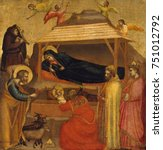 The Adoration Of The Magi  By...