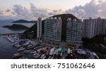 aerial view of the aberdeen... | Shutterstock . vector #751062646