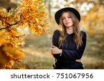 close up portrait of a... | Shutterstock . vector #751067956