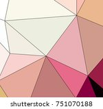 multicolor texture made using...   Shutterstock . vector #751070188