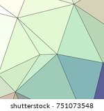 abstract colored texture of... | Shutterstock . vector #751073548