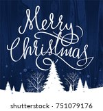 christmas decoration  christmas ... | Shutterstock .eps vector #751079176