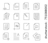 simple set of document flow...