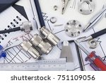 engineering and technology... | Shutterstock . vector #751109056