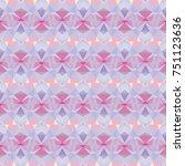 abstract vector modern seamless ... | Shutterstock .eps vector #751123636