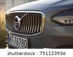 volvo v90 d5 inscription  ... | Shutterstock . vector #751123936