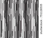 vector seamless line pattern.... | Shutterstock .eps vector #751128535