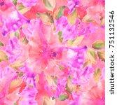 tie dye textile seamless.... | Shutterstock . vector #751132546