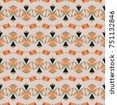 abstract vector modern seamless ... | Shutterstock .eps vector #751132846
