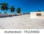 fort in the center of campeche  ... | Shutterstock . vector #751154002