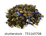 Green Tea With Dry Passion...
