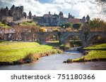 Fortified City Of Carcassonne...