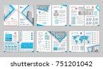 brochure creative design.... | Shutterstock .eps vector #751201042