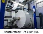 flexography roll material...   Shutterstock . vector #751204456