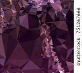 geometric low polygonal... | Shutterstock . vector #751267666