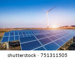 Solar Energy Panels And Wind...
