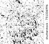 grunge texture black and white. ... | Shutterstock .eps vector #751336996