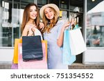 sale  consumerism and people... | Shutterstock . vector #751354552