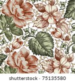 vector. beautiful background... | Shutterstock .eps vector #75135580
