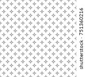 seamless pattern of dots and... | Shutterstock .eps vector #751360216