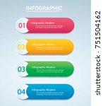 info graphic vector template... | Shutterstock .eps vector #751504162