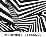 abstract halftone stripes... | Shutterstock .eps vector #751530202