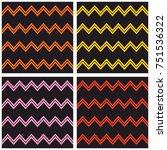 tile vector pattern set with...   Shutterstock .eps vector #751536322