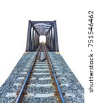 depicting a large railway... | Shutterstock . vector #751546462