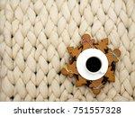 cozy composition  closeup... | Shutterstock . vector #751557328