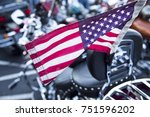 Isolated Closeup Of American...