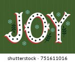 vector illustration of joy... | Shutterstock .eps vector #751611016
